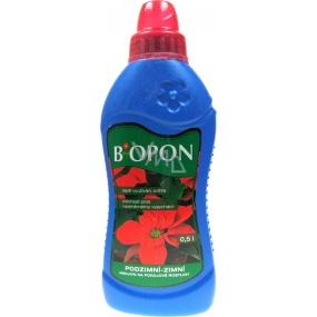 Biopon Podzimní-zimní tekuté hnojivo na pokojové rostliny 500 ml