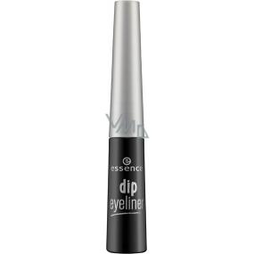 Essence Dip Eyeliner tekuté oční linky Black 4 ml