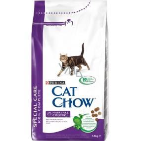 Purina Cat Chow Special Care Hairball kompletní krmivo zabraňující vzniku trichobezoárů 1,5 kg