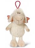 Nici Ovečka Jolly se závěsem bílá Plyšová hračka nejjemnější plyš 15 cm