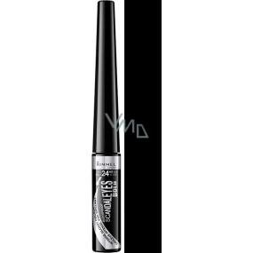 Rimmel London Scandaleyes Bold Waterproof Eyeliner oční linky 001 Black 2,5 ml