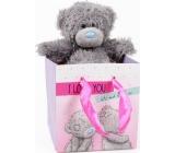 Me to You Medvídek v dárkové tašce Láska 13 cm
