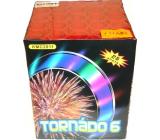 Tornádo 6 kompakt pyrotechnika CE3 25 ran III. třídy nebezpečí prodejné od 21 let!