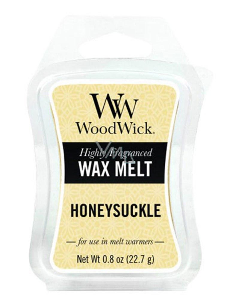WoodWick Honeysuckle - Zimolez a jasmín vonný vosk do aromalampy 22.7 g