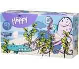 Bella Happy Baby Chobotnice hygienické kapesníky 2 vrstvé 150 kusů