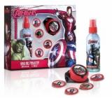 Marvel Avengers tělový deodorant sprej pro děti 100 ml + raketomet se 4 disky, kosmetická sada