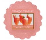 Yankee Candle White Strawberry Bellini - Bílý jahodový koktejl vonný vosk do aromalampy 22 g