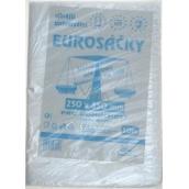 Press Eurosáčky silnější univerzální sáčky trhací čiré 25 x 35 cm 50 kusů