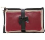 Diva & Nice Kosmetická kabelka malá 23 x 12 x 1 cm, střední 25 x 14 x 1 cm, velká 26 x 16 x 1 cm, sada 3 kusů 61438