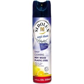 Sidolux M na nábytek Citron Hypoalergení Antistatický sprej proti prachu s vůní citronu 350 ml