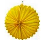 Lampion - 25 cm žlutý