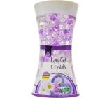 Pan Aroma Lava Gel Crystals Lavender & Camomile gelový osvěžovač vzduchu 150 g