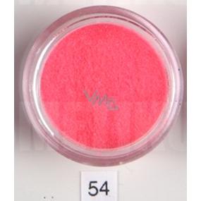 Ocean Crystaline Sypký glitr na nehty, tělo, obličej 54 neon růžový 1,5 g