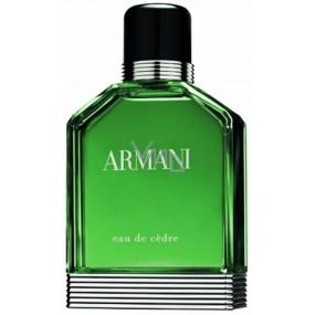 Giorgio Armani Eau de Cédre pour Homme toaletní voda 100 ml Tester