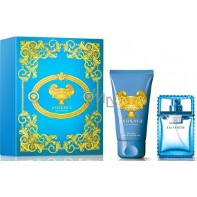 Versace Eau Fraiche Man toaletní voda 30 ml + sprchový gel 50 ml, dárková sada