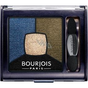 Bourjois Smoky Stories Quad Eyeshadow Palette oční stíny 10 Welcome Black 3,2 g