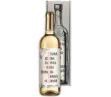 Bohemia Gifts Chardonnay Pro babičku bílé dárkové víno 750 ml