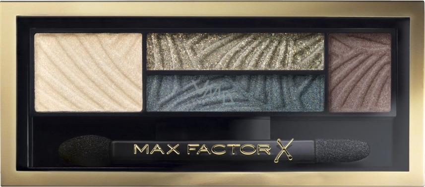 Max Factor Smokey Eye Drama Kit 2v1 oční stíny a pudr na obočí 05 Magnetic Jades 1,8 g