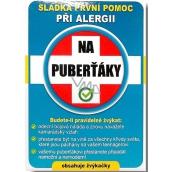 Nekupto Sladká první pomoc 2 Ovocné žvýkačky při alergii Na puberťáky 10 ks