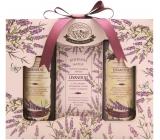 Bohemia Natur Levandule sprchový gel 100 ml + mýdlo 100 g + šampon na vlasy 100 ml, kosmetická sada