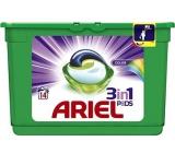 Ariel 3v1 Color gelové kapsle na praní prádla 14 kusů