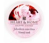 Heart & Home Jahodová zmrzlina Sojový přírodní vonný vosk 27 g