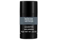 Karl Lagerfeld Bois de Vétiver deodorant stick pro muže 75 g