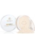 Dermacol Invisible Fixing Powder transparentní fixační pudr Banana 13,5 g
