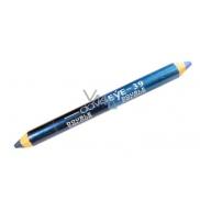 Princessa Davis Eye Double Colour oční stíny v tužce 039 Modrá s perletí - tmavě modrá 6 g