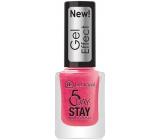 Dermacol 5 Day Stay Gel Effect dlouhotrvající lak na nehty s gelovým efektem 29 Burlesque 12 ml