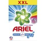Ariel Color Touch of Lenor Fresh prací prášek na barevné i bílé prádlo krabice 70 dávek 5,25 kg