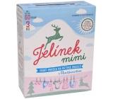 Jelen Jelínek Mimi s panthenolem prací prášek na dětské prádlo box 60 dávek 3 kg