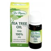 Dr. Popov Tea Tree Oil 100% čistý Tea Tree Oil s antiseptickými účinky, v nejvyšší možné kvalitě 11ml