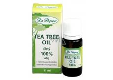 Dr. Popov Tea Tree Oil 100% čistý Tea Tree Oil s antiseptickými účinky, v nejvyšší možné kvalitě 11 ml