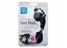 Escenti Cool Feet Bambusové uhlí čisticí maska na nohy 1 pár