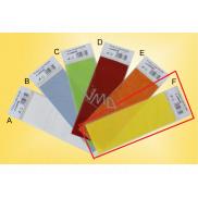 Lima Voskový plát na výrobu a dekoraci svíček žlutý 90 x 250 mm 1 kus