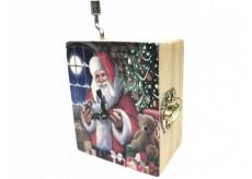 Epee Vánoční hrací skříňka Santa Claus Is Coming to Town - Santa přichází do města 5,5 x 6,6 x 3,6 cm