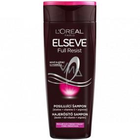 Loreal Paris Elseve Full Resist posilující šampon pro slabé vlasy s tendencí vypadávat 250 ml