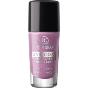 Dermacol One Coat Extreme Coverage Nail Polish Lak na nehty 122 10 ml