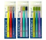 Curaprox CS 3960 Sensitive Super Soft velmi jemná tvrdost zubní kartáček 3 kusy