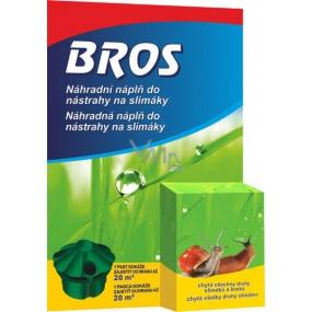 Bros Nástraha na slimáky náhradní náplň 2 kusy