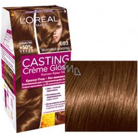 Loreal Paris Casting Creme Gloss barva na vlasy 603 čokoládová karamelka