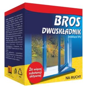 Bros Na mouchy prášek Duo 40 g + rozpouštědlo 40 ml