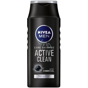 Nivea Men Active Clean šampon na vlasy pro muže 250 ml