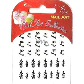 Absolute Cosmetics Nail Art nálepky na nehty s kamínky NT004 1 aršík