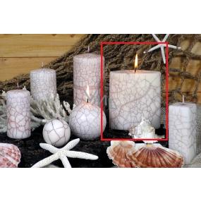Lima Nevada svíčka bílá elipsa 110 x 125 mm 1 kus