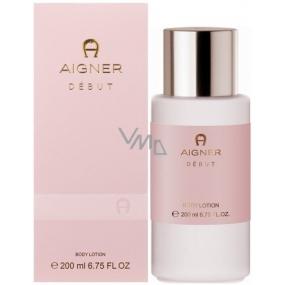 Etienne Aigner Debut tělové mléko pro ženy 200 ml