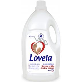 Lovela Barevné prádlo Hypoalergenní tekutý prací prostředek 50 dávek 4,5 l