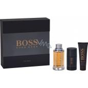 Hugo Boss Boss The Scent for Men toaletní voda 100 ml + deo stick 75 ml + sprchový gel 50 ml, dárková sada