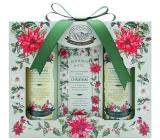 Bohemia Gifts Green Spa sprchový gel 100 ml + toaletní mýdlo 100 g + šampon na vlasy 100 ml